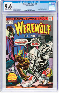 Werewolf by Night #32 (Marvel, 1975) CGC NM+ 9.6 Off-white to white pages