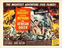 """The African Queen (United Artists, 1952). Folded, Fine/Very Fine. Half Sheet (22"""" X 28"""") Style B"""