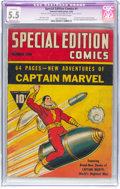 Golden Age (1938-1955):Superhero, Special Edition Comics #1 (Fawcett Publications, 1940) CGC Apparent FN- 5.5 Moderate (A) Cream to off-white pages....