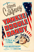 "Movie Posters:Musical, Yankee Doodle Dandy (Warner Brothers, 1942). Very Fine- on Linen. One Sheet (27"" X 41"") Bill Gold Artwork.. ..."