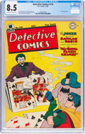 Golden Age (1938-1955):Superhero, Detective Comics #118 (DC, 1946) CGC VF+ 8.5 Off-white to white pages....