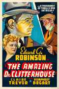 Movie Posters:Crime, The Amazing Dr. Clitterhouse (Warner Brothers, 1938). Very...