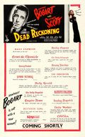 "Movie Posters:Film Noir, Dead Reckoning (Columbia, 1947). Fine/Very Fine on Linen. BritishOne Sheet (25"" X 40.25"") Advance Review Style.. ..."