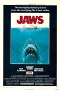 """Movie Posters:Horror, Jaws (Universal, 1975). Very Fine- on Linen. One Sheet (27"""" X 41""""). Roger Kastel Artwork.. ..."""