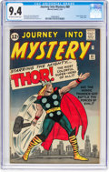 Silver Age (1956-1969):Superhero, Journey Into Mystery #89 (Marvel, 1963) CGC NM 9.4 Off-white to white pages....