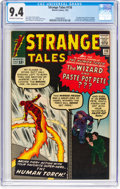 Silver Age (1956-1969):Superhero, Strange Tales #110 (Marvel, 1963) CGC NM 9.4 Off-white to white pages....