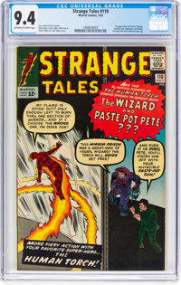 Strange Tales #110 (Marvel, 1963) CGC NM 9.4 Off-white to white pages