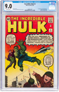 Silver Age (1956-1969):Superhero, The Incredible Hulk #3 (Marvel, 1962) CGC VF/NM 9.0 Off-whitepages....