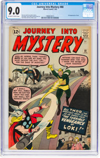 Journey Into Mystery #88 (Marvel, 1963) CGC VF/NM 9.0 Off-white to white pages