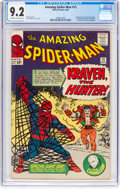 Silver Age (1956-1969):Superhero, The Amazing Spider-Man #15 (Marvel, 1964) CGC NM- 9.2 Off-white to white pages....