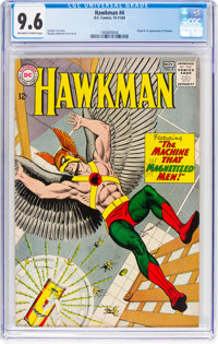 Hawkman #4 (DC, 1964) CGC NM+ 9.6 Off-white to white pages