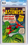 Silver Age (1956-1969):Superhero, Tales to Astonish #44 (Marvel, 1963) CGC VF+ 8.5 Off-white to whitepages....