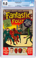 Silver Age (1956-1969):Superhero, Fantastic Four #11 (Marvel, 1963) CGC VF/NM 9.0 Off-white to whitepages....