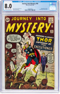 Silver Age (1956-1969):Superhero, Journey Into Mystery #84 (Marvel, 1962) CGC VF 8.0 Off-white towhite pages....