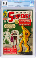Silver Age (1956-1969):Superhero, Tales of Suspense #45 (Marvel, 1963) CGC NM+ 9.6 Off-white to white pages....