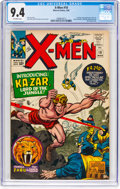 Silver Age (1956-1969):Superhero, X-Men #10 (Marvel, 1965) CGC NM 9.4 Off-white pages....