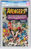 Silver Age (1956-1969):Superhero, The Avengers #12 (Marvel, 1965) CGC NM- 9.2 White pages.