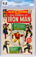 Silver Age (1956-1969):Superhero, Tales of Suspense #57 (Marvel, 1964) CGC VF/NM 9.0 Off-white towhite pages....