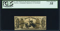 Fractional Currency:Third Issue, Fr. 1355 50¢ Third Issue Justice PCGS Choice About New 58.. ...