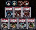 Baseball Cards:Sets, 1964 Topps Coins Baseball Complete Set (164) Plus All 3 Variations. ...