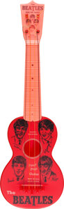 Music Memorabilia:Instruments, Beatles Mastro Four Pop Ukulele Guitar (1964)....