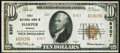 National Bank Notes:Kansas, Harper, KS - $10 1929 Ty. 2 First NB Ch. # 8307 Very Fine-Extremely Fine.. ...