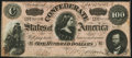 Confederate Notes:1864 Issues, T65 $100 1864 PF-2 Cr. 493 Extremely Fine-About Uncirculated.. ...