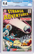Silver Age (1956-1969):Science Fiction, Strange Adventures #150 (DC, 1963) CGC NM 9.4 Off-white pages....