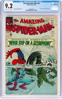 The Amazing Spider-Man #29 (Marvel, 1965) CGC NM- 9.2 Off-white to white pages