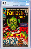 Silver Age (1956-1969):Superhero, Fantastic Four #49 (Marvel, 1966) CGC VF+ 8.5 Off-white to whitepages....