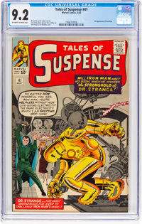 Tales of Suspense #41 (Marvel, 1963) CGC NM- 9.2 Off-white to white pages