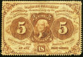 Fractional Currency:First Issue, Fr. 1229 5¢ First Issue Fine.. ...