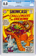 Silver Age (1956-1969):Superhero, Showcase #12 Challengers of the Unknown (DC, 1958) CGC VF ...
