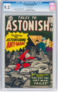 Silver Age (1956-1969):Superhero, Tales to Astonish #40 (Marvel, 1963) CGC NM- 9.2 Off-white pages....