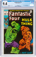Bronze Age (1970-1979):Superhero, Fantastic Four #112 (Marvel, 1971) CGC NM 9.4 Off-white to whitepages....