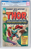 Silver Age (1956-1969):Superhero, Journey Into Mystery #110 (Marvel, 1964) CGC NM- 9.2 White...