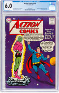 Silver Age (1956-1969):Superhero, Action Comics #242 (DC, 1958) CGC FN 6.0 White pages....