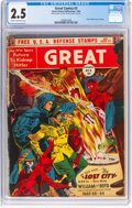 Golden Age (1938-1955):Science Fiction, Great Comics #3 (Great Comics Publications, 1942) CGC GD+ 2.5 Cream to off-white pages....