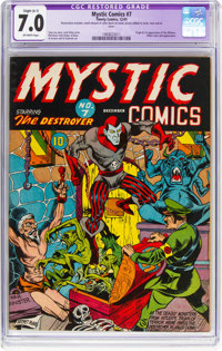 Mystic Comics #7 (Timely, 1941) CGC Apparent FN/VF 7.0 Slight (A-1) Off-white pages
