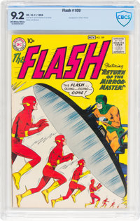 The Flash #109 (DC, 1959) CBCS NM- 9.2 Off-white to white pages