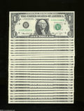 Error Notes:Ink Smears, Fr. 1908-H $1 1974 Federal Reserve Notes. Twenty-six Examples.Choice Crisp Uncirculated or Better.... (26 notes)