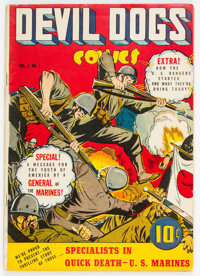 Devil Dogs #1 (Street & Smith, 1942) Condition: FN