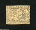 Colonial Notes:Continental Congress Issues, Continental Currency February 17, 1776 $2 Very Fine....