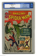 Silver Age (1956-1969):Superhero, The Amazing Spider-Man #2 Massachusetts pedigree (Marvel, 1963) CGCNM- 9.2 White pages. The second issue of this title was ...