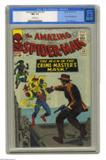 Silver Age (1956-1969):Superhero, The Amazing Spider-Man #26 (Marvel, 1965) CGC NM+ 9.6 Off-whitepages. The mysterious Crime Master makes his first appearanc...