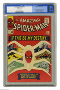Silver Age (1956-1969):Superhero, The Amazing Spider-Man #31 (Marvel, 1965) CGC NM+ 9.6 Off-white towhite pages. In this series more than any other, the memb...