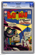 Silver Age (1956-1969):Superhero, Batman #148 (DC, 1962) CGC VF+ 8.5 Off-white pages. Joker cover and story. Sheldon Moldoff cover. Moldoff and Jim Mooney art...