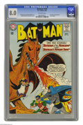 Silver Age (1956-1969):Superhero, Batman #155 (DC, 1963) CGC VF 8.0 Off-white pages. After Bob Kane, Jack Burnley, Jerry Robinson, Dick Sprang, and Win Mortim...