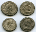 Ancients:Greek, Ancients: ANCIENT LOTS. Roman Provincial. Lot of four (4) AR tetradrachms. VF.... (Total: 4 coins)