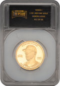 Baseball Collectibles:Others, 2018 Aaron Judge Baseball Treasure One Ounce Gold Coin - One in 21,600 Packs. ...